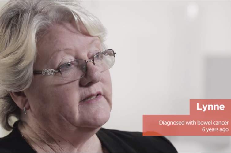 Bowel cancer interactive video